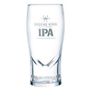 Greene King IPA Pint Glass