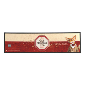 """Old Speckled Hen"" Bar Runner"