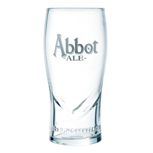 Abbot Ale Pint Glass