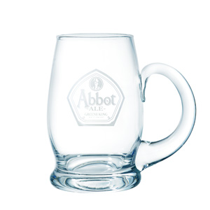Abbot Ale Pint Glass Tankard