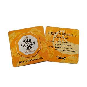 Old Golden Hen Drip Mat