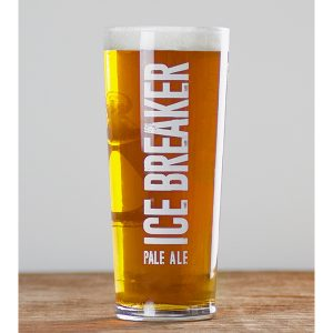 Ice Breaker Pint Glass