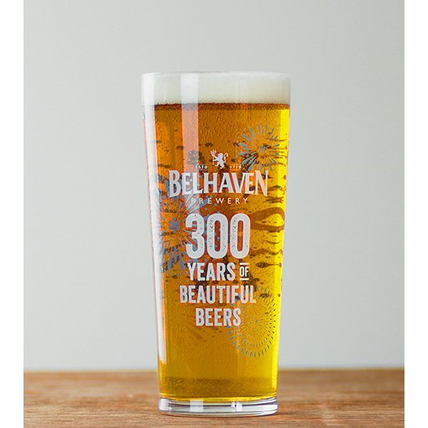 Belhaven 300 Years Pint Glass