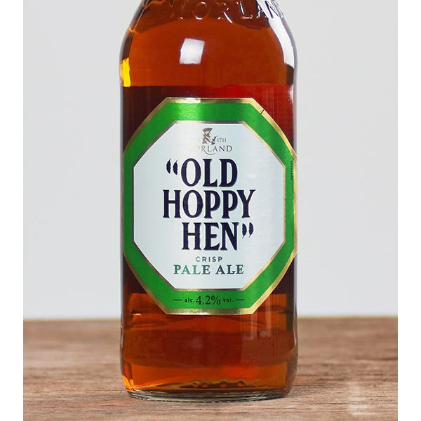 Old Hoppy Hen bottle