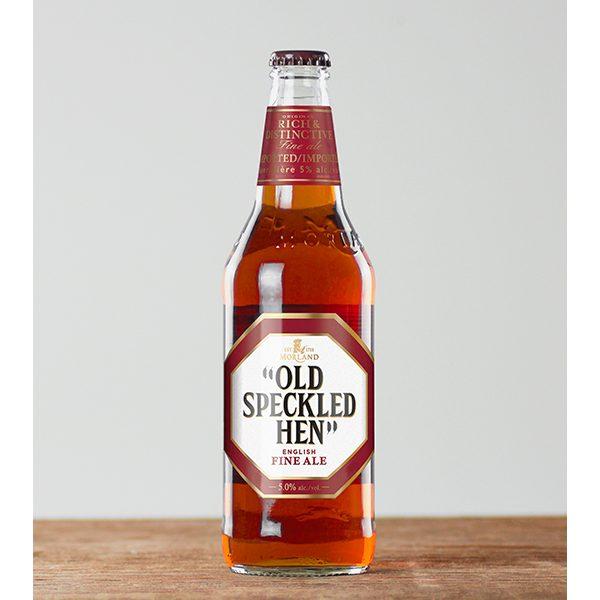 Old Speckled Hen bottle