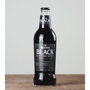 Belhaven Black Stout 500ml bottle