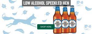 Low Alcohol Old Speckled Hen Banner