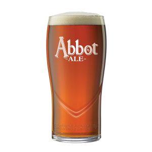 Abbot Ale Pint Glass