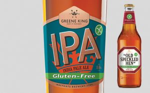 Gluten-free Greene King IPA and Old Speckled Hen