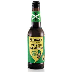 Belhaven Twisted Pineapple IPA 330ml bottle