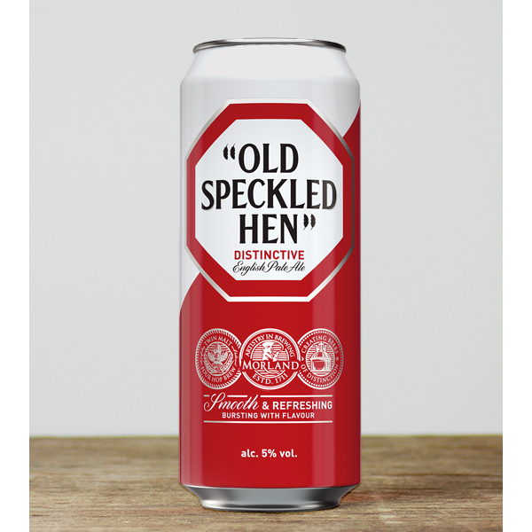 Old Speckled Hen Can