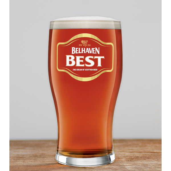 Belhaven Best Pint Glass