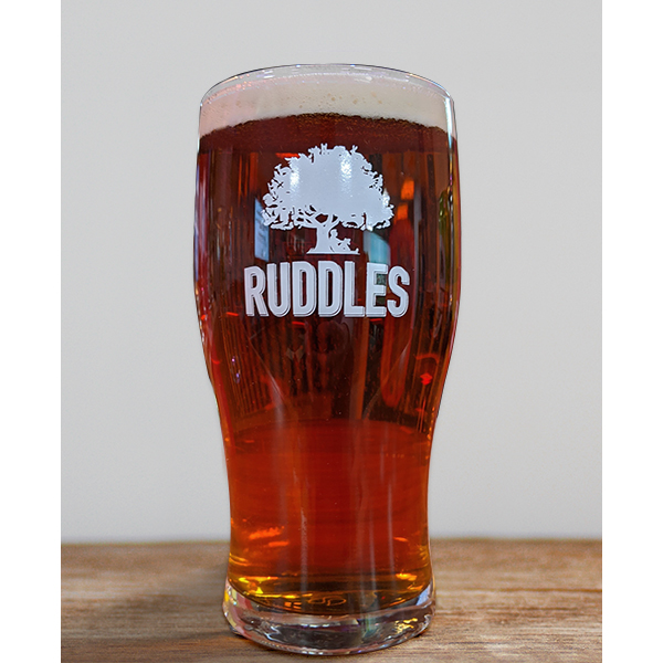 Ruddles Pint Glass