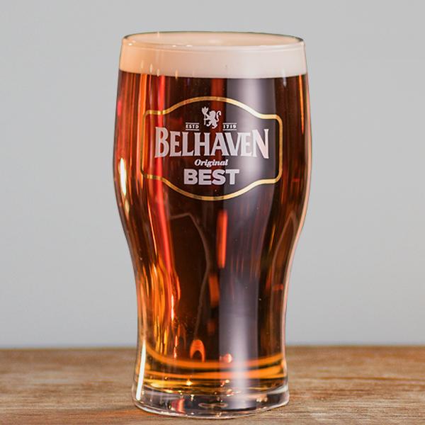 Belhaven Best Pint Glass