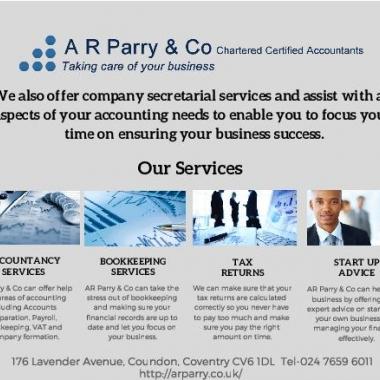 A R Parry & Co Limited