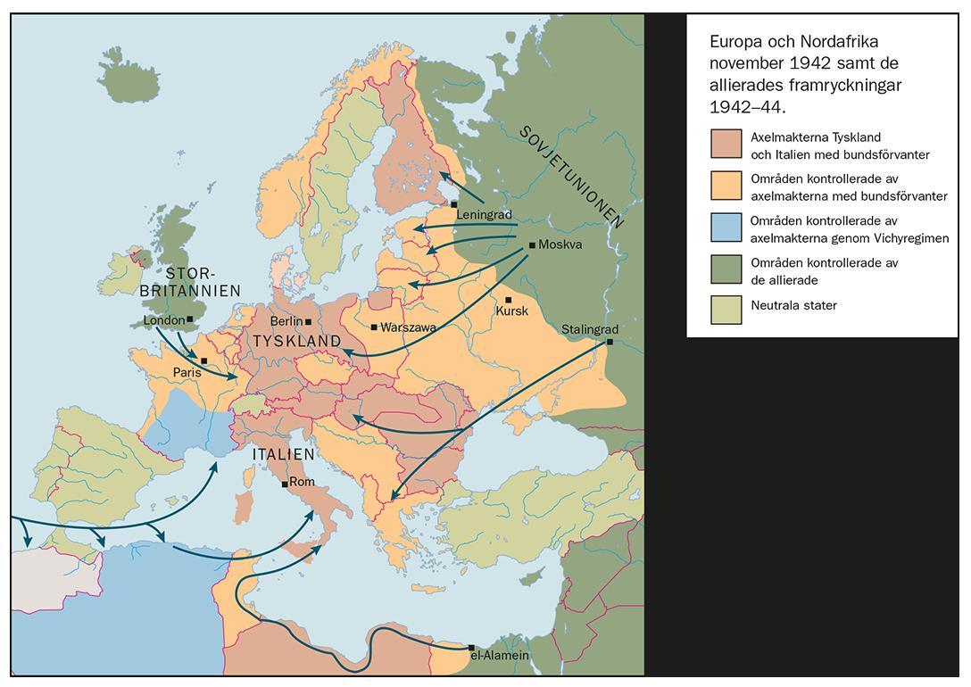italien karta områden Krigets vändpunkter   Annikas SO sida italien karta områden