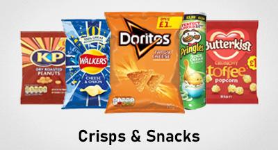 Crisps Snacks HP Banner