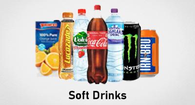 Soft Drinks HP Banner