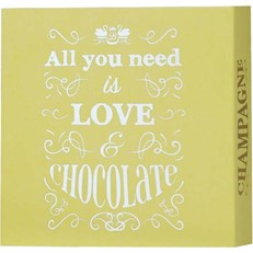 BEECH'S ALL YOU NEED IS LOVE & CHOCOLATE MARC DE CHAMPAGNE TRUFFLES 100g