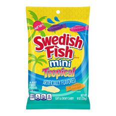 USA SWEDISH FISH MINI TROPICAL 226g