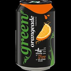 GREEN SPARKLING ORANGEADE CANS 330ML (24 PACK)