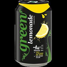 GREEN SPARKLING LEMONADE CANS 330ML (24 PACK)