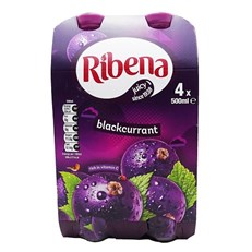 RIBENA BLACKCURRANT 500ml (4 PACK)