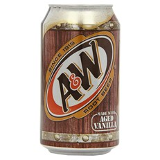 USA A&W ROOT BEER FULL SUGAR 355ml (12 PACK)