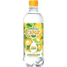 PERFECTLY CLEAR LEMON & LIME 500ml (4 x 6 PACK)