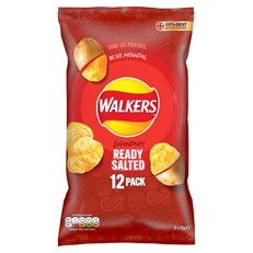 WALKERS READY SALTED 25g (15 x 12 PACK)