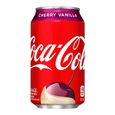 USA COCA COLA CHERRY VANILLA FULL SUGAR 355ml (12 PACK)