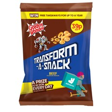 TRANSFORM A SNACK 2 FOR 60P BEEF