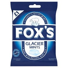 FOXS GLACIERS MINT 130g £1 (12 PACK)
