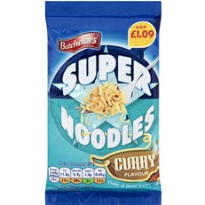 SUPERNOODLES CURRY PM £1.09