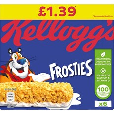 FROSTIES CEREAL BARS £1 (12 x  4 PACK)