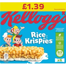 RICE KRISPIES 4PACK £1