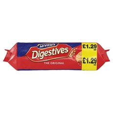 MCVITIES £1.29 DIGESTIVES 12for10