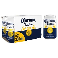 CORONA EXTRA 330ml CANS (4 x 6 PACK)