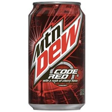 USA MOUNTAIN DEW CODE RED