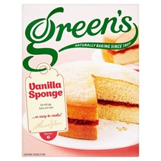 GREENS VANILLA SPONGE MIX