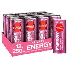 COCA COLA ENERGY £1 250ml CHERRY NOW WITH EXTRA COCA COLA TASTE (12 PACK)