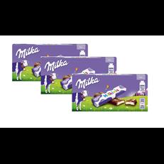 MILKA  MILKINIS 87.5g (3 x 8 BARS)