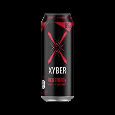 XYBER RED ENERGY DRINK CHERRY & RASPBERRY 500ml (12 PACK)