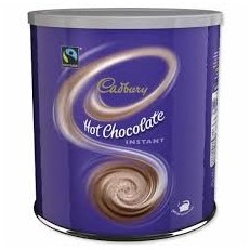 CADBURYS HOT CHOCOLATE TINS (FOR USE WITH MILK)