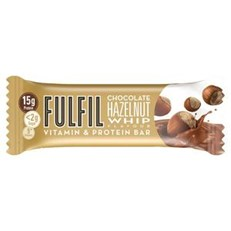 FULFIL PROTEIN BARS CHOCOLATE HAZELNUT WHIP 40g (15 PACK)