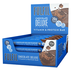FULFIL PROTEIN BAR CHOCOLATE DELUXE 55g (15 PACK)