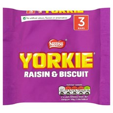 YORKIE RAISIN & BISCUIT 3PACK