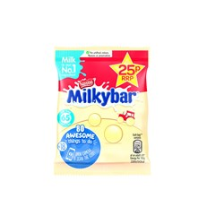 MILKYBAR PIECES 25P