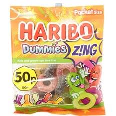 HARIBO 50P DUMMIES ZING