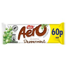 AERO BUBBLY PEPPERMINT 36g 60p (24 PACK)